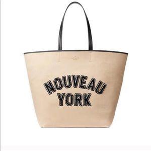 Kate spade dashing beauty nouveau New York tote